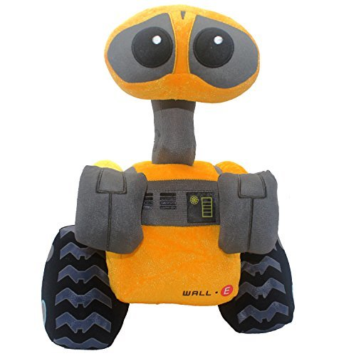 "FAIRZOO Wall-E Plush, Plush Toy, Stuffed Animal, Gifts for Kids, 15"" Deluxe Plus"