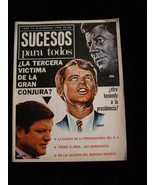 Sucesos Para Todos John F Kennedy Robert Kennedy Edward Kennedy - $18.99