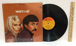 Nancy Sinatra & Lee Hazlewood Vinyl Record Album Hits of Vintage 1970s USA - $19.75