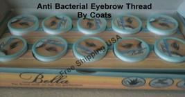 5 x Bella Eyebrow Thread By Coats 40m per Roll - $8.92