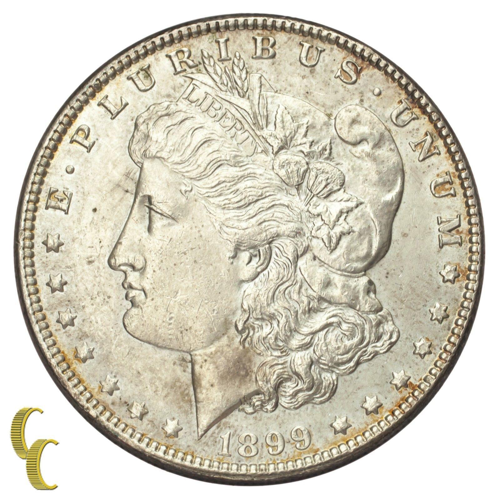 1899 Silver Morgan Dollar $1 (Brilliant Uncirculated, BU Condition)