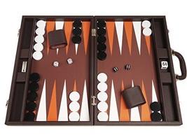 19-inch Backgammon Set - Dark Brown Board - $129.33