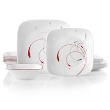 Corelle Service for 6, Chip Resistant, Splendor Dinnerware Set, 18-Piece... - $84.79