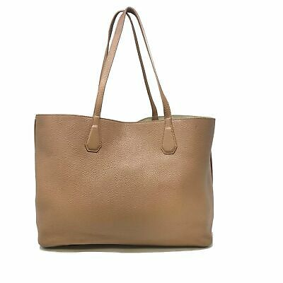 Tory Burch Bark/Light Gold Pebbled Leather Perry Tote Women's Bag image 3