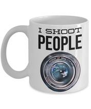 "I Shoot People Mug ""Camera Lens Mug"" Makes a Great Gift For Nikon, Canon... - $14.95"