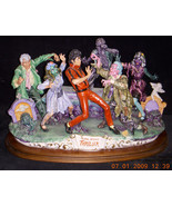 Michael Jackson Thriller Capodimonte only 6 ever made in Utaly - $19,000.00