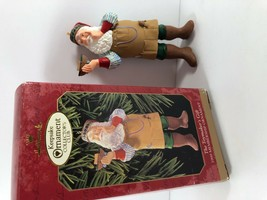 1999 Hallmark Keepsake Collectors Club The Toymakers Gift Christmas Ornament  - $9.89