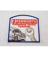 Kenworth Professional Service Technician Embroidered Patch Red Blue New  - $9.90