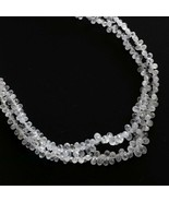 Natural Sapphire Faceted Drop Beads 3.5x2 mm to 6.5x4 mm 8 Inch Strand - $245.52