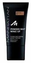 Manhattan Powder Mat Make up # 86 Naturally Matt Look for Combination Sk... - $14.45