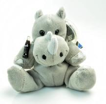 Coca-Cola Bean Bag Plush Rhiny Rhinoceros International Collection TANZANIA 0232 - $18.90