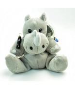 Coca-Cola Bean Bag Plush Rhiny Rhinoceros International Collection TANZA... - $18.90