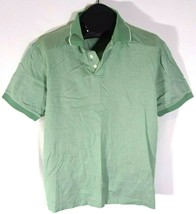 Roundtree and York Mens Casual Golf Polo Shirt Large Green O - $18.89