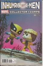 Marvel Collector Corps Exclusive Inhumans vs X-Men #001 Sealed Brand New  - $4.95