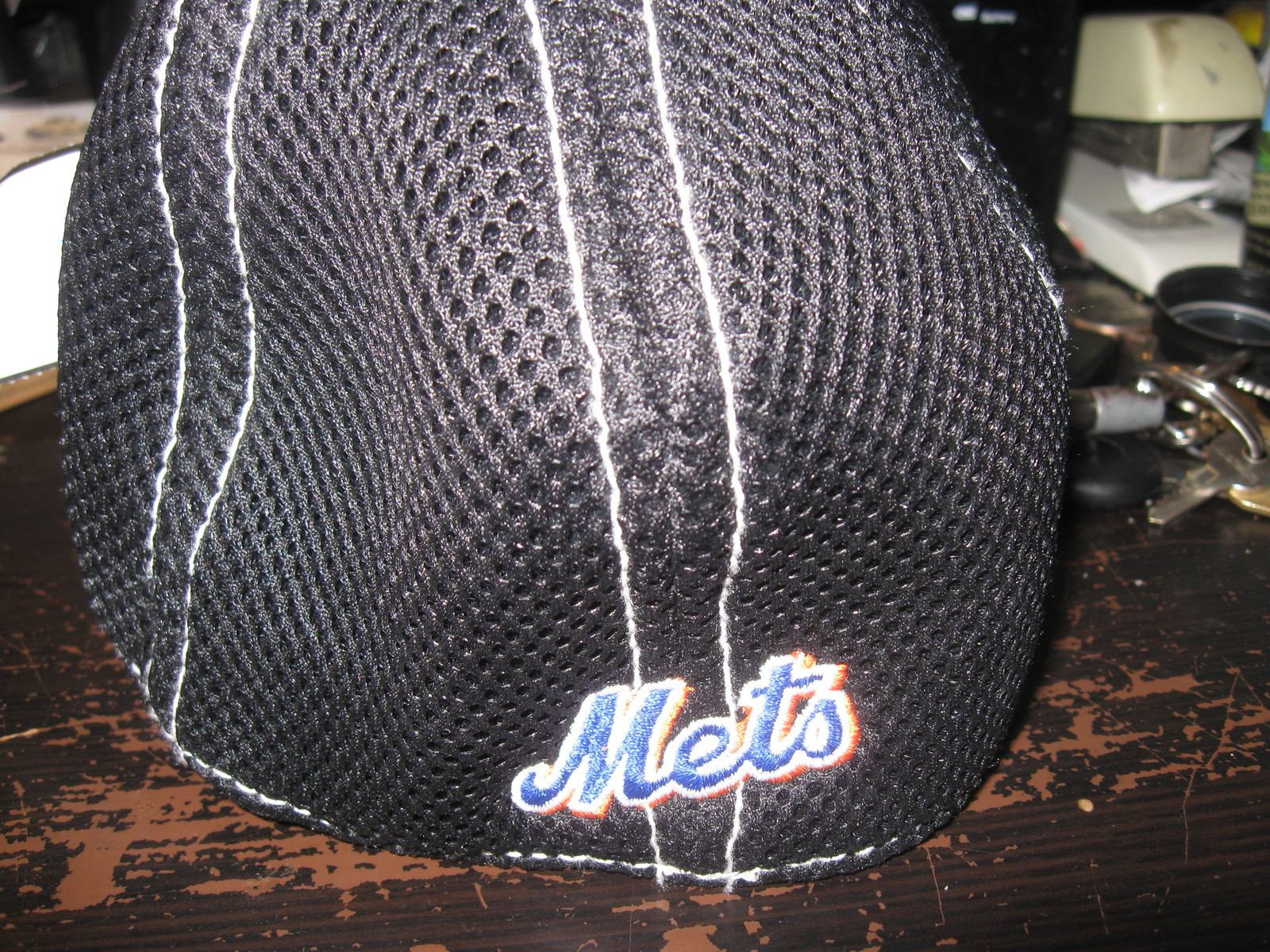 NY METS NEW ERA BLACK YOUTH  HAT EMBRIODED!