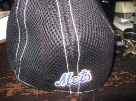 NY METS NEW ERA BLACK YOUTH  HAT EMBRIODED! image 2