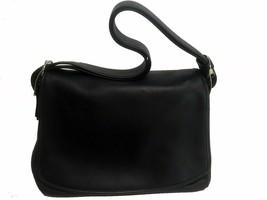 Coach Leather Top Handle Handbag Black - $136.75