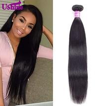 Ushine Brazilian Straight Hair 1 Bundle 24 inch Unprocessed Virgin Hair ... - $48.78