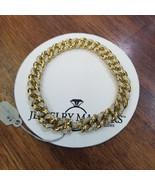 Men's Real Diamond Miami Cuban Link Bracelet 1 CT 9mm 10k Yellow Solid G... - $2,470.05