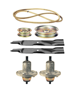 Deck Rebuild Kit for John Deere X300 X304 X310 Lawn Tractor Blades Belt ... - $185.21