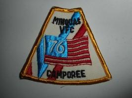 "Vintage 70s BSA Boy Scouts Pennsylvania Minquas VFC 76 Camporee Patch 3""x3"" - $6.99"