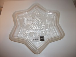 MIKASA HOLIDAY CLASSICS CHRISTMAS STAR TREE CANDY BOWL DISH - $9.99