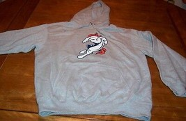 DENVER BRONCOS NFL FOOTBALL HOODIE HOODED SWEATSHIRT LARGE NEW - $39.60