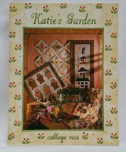 Beadshine Retired 1997 Katies Garden Cabbage Rose Quilt Pattern Sewing Book - $14.84
