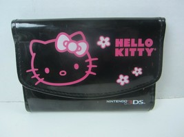 Nintendo 3DS Hello Kitty Carrying Case Black with Pink Kitty - $14.89