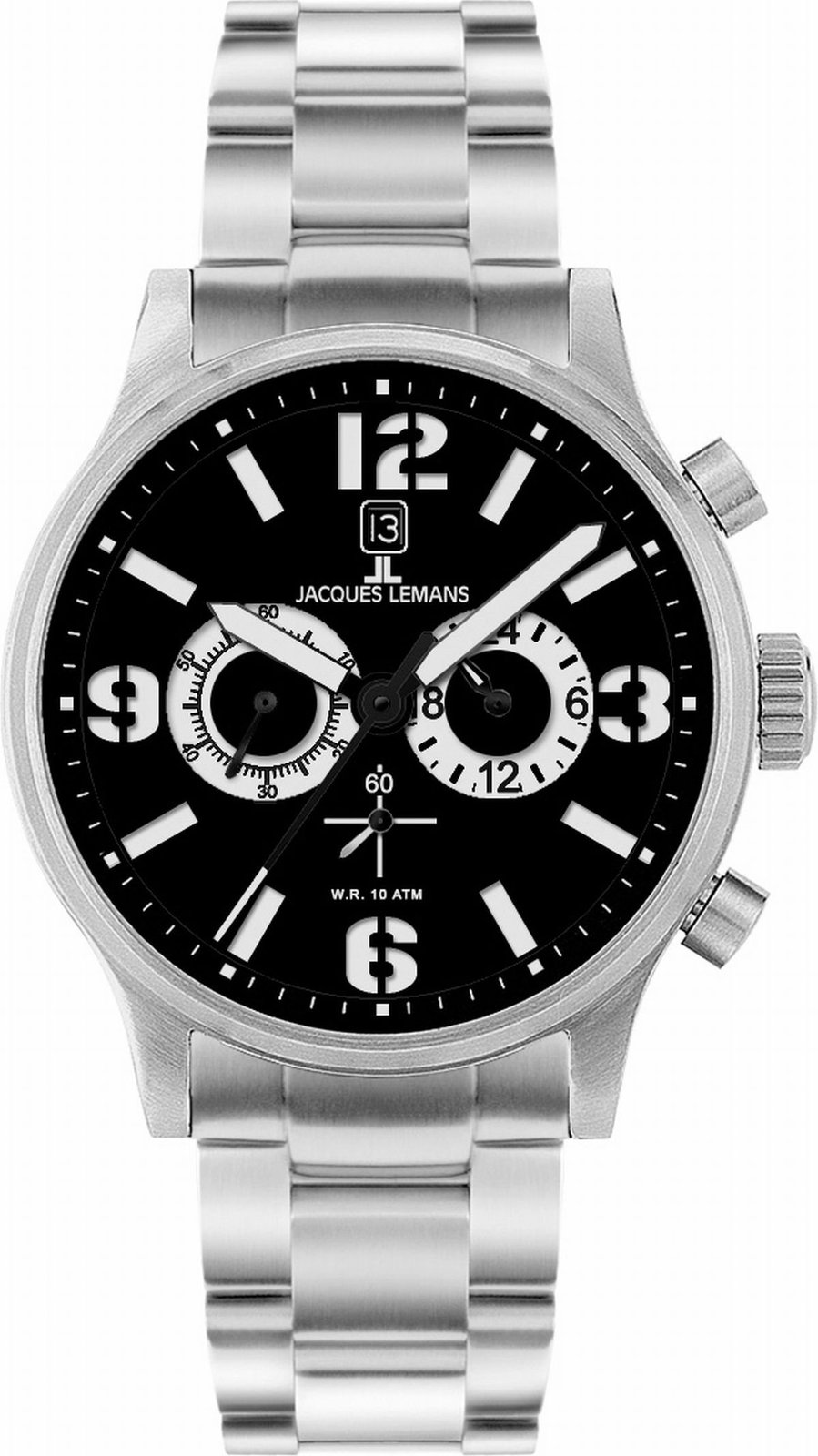 Jacques Lemans Men's 1-1659O Porto Sport Analog Chronograph Watch