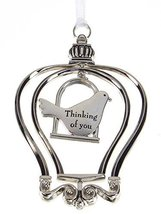 """""""3D"""" Birdcage Ornament - Thinking of you - $12.50"""