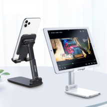Universal Desktop Mobile Phone Holder Stand For IPhone. IPad, Adjustable... - £18.21 GBP