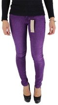 NEW NWT LEVI'S 535 JUNIOR'S SKINNY JEAN LEGGINGS PURPLE 119970046