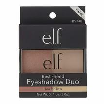 elf (E.L.F.) Best Friend Eyeshadow Duo in Tea for Two, Brand New (85340) - $3.99