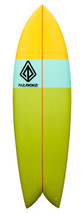 "Paragon Retro Fish 6'5"" Multi-Color Surfboard - $405.00"