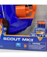 Nerf Scout MKII N-Strike Elite Dart Gun New In Box - $13.46