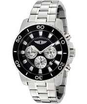 Invicta Men's 43619-001 Chronograph Stainless Steel Black Dial Watch - $75.00