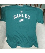 Philadelphia Eagles NFL Team Apparel Men's Green T-Shirt-Large - $24.70