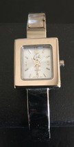 Cache Watch Wristwatch Silver Tone Bracelet Watch Vintage Parts Only - $18.81