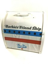 Vintage Mattel Barbie 1972 Friend Ship United Airline/Plane Case Accessories EUC - $69.24