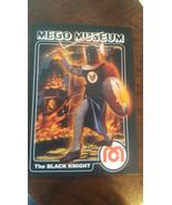 2009 MEGO MUSEUM ERROR PROMO CARD BLACK KNIGHT # 73 FRONT KING ARTHUR # ... - $34.64