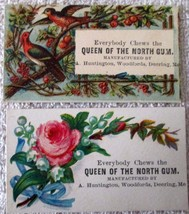 Unusual Chewing Gum advertising cards early 1900's--excellent condition - $7.50
