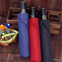 TopX® High Quality Umbrella Leather Handle Automatic Umbrella Men Large - $46.11