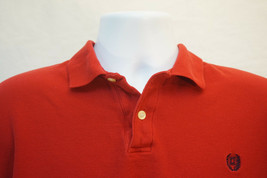 Chaps Ralph Lauren Heavy Cotton Polo Shirt, Solid Red, Men's Small 8811 - $11.22
