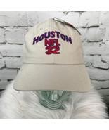 Houston NFL 32 Puma Mens One Sz Hat Beige Adjustable Strapback Baseball ... - $19.79