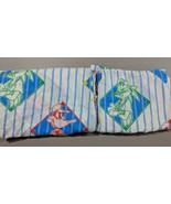 Warner Bros Baseball Taz Bugs Bunny Daffy Duck Flat Sheet Twin Individua... - $24.14