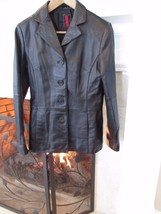 Forever 21 Leather 4 Button Jacket Sz Small Compare at $200+ - $38.61