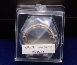 New Gucci  Replacement Bezel, Case and Crystal - 9040 G - 2 Tone - $99.95