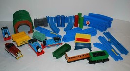 Thomas & Friends Motorized Trains Track Risers Switch Tunnel Salty Tomy Lot 51 - $58.19