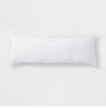 Body Pillow White - Room Essentials 52''(L), 20'' (W) 7'' thick (WHOLE PILLOW ) image 1